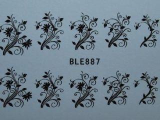 Nail Art Sticker Tattoo One Stroke BLE 887