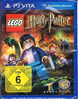 Sony PlayStation Vita Spiel LEGO Harry Potter   Die Jahre 5 7 NEU