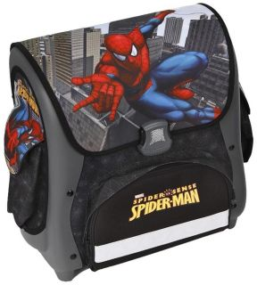 Schulranzen Undercover 10Tlg. Spider Man Sense Schwarz Sporttasche