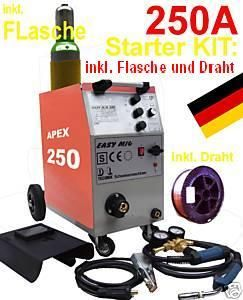 Schutzgasschweißgerät MIG 250 AM Schutzgas Schweißgerät MIG MAG