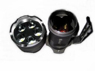 NEW Searchlight High power SUPER Bright 6000Lumen 5x CREE XM L T6 LED