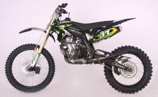 ICS CBF 31FS Enduro Cross Dirt Bike 250cc 4Takt Schwarz
