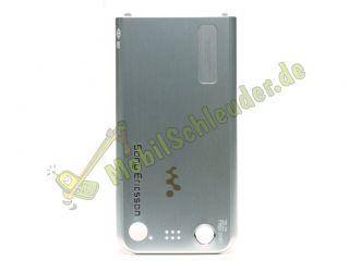 Akkudeckel original Sony Ericsson W890 W890i silber silver Deckel