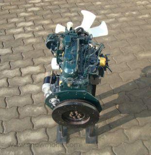 Diesel Motor Kubota D905 26,0PS 898ccm BHKW gebr.