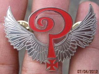 INDIAN LARRY Motorcycle PIN In Memory TRIBUTE 1949 2004