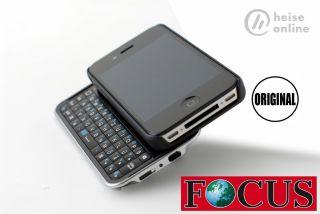 iPhone 4 Bluetooth Tastatur QWERTZ Weltneuheit Neu OVP
