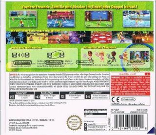 Nintendo 3DS Spiel Mario Tennis Open NEU