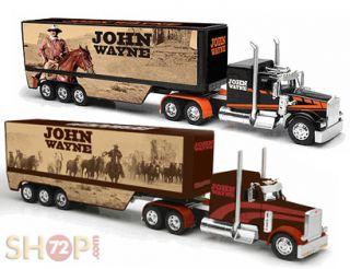 JOHN WAYNE PETERBILT 379 KENWORTH W900 DIECAST 1 32 TRUCKS TRAILERS