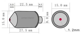 Mini CCTV Kamera Bullet Nachtsichtkamera 0,008 LUX Spion Minikamera