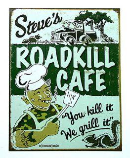 Original Cafè Bar Grill Diners Koch Vintage Schild #893