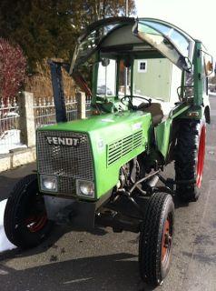 Fendt Farmer 102 S Turbomatik luftgekühlt + Mähwerk TÜV Schlepper