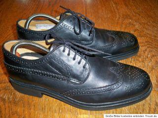 Gordon&Bros Herren Leder Business Schuhe Lederschuhe Größe 8  42