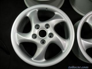 Porsche 911 986 Boxster Orginal Turbo Look Felgen Rims Wheels 18