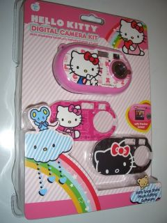 Hello Kitty Digital Camera Kit + 3 Great Face Plates