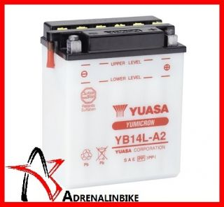 BATTERIA YUASA YB14L A2 per DUCATI Paso 906