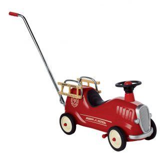 Radio Flyer Little Red Fire Engine Feuerwehr Rutschauto