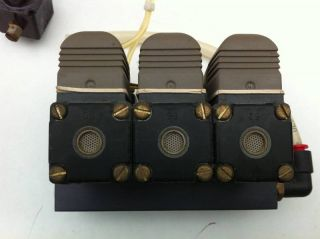 3x Bürkert Magnetventil 450 926 Z 450926Z 420 G 1/8 B PL NA1/8 24V DC