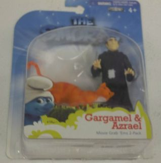 2011 Jakks Pacific The Smurfs Gargamel & Azrael Figures