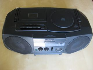 SONY CFD 910 STEREO CD KASSETTEN PLAYER GHETTOBLASTER
