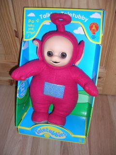 BOXED     TELETUBBIES LARGE TALKING PO     VERY GOOD CONDITION.