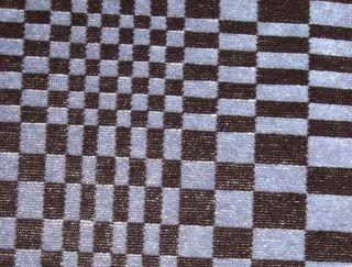 STOFF PASCHA für PORSCHE für 911 924 928 944 Blau / Schwarz
