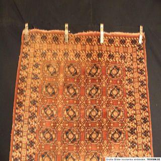 Antiker Handgeknüpfter Perser Teppich Turkman Jomut Old Carpet Rug