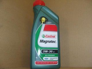 ÖL 1Liter Castrol Magnatec 5w30 ACEA A1/B2 A5/B5 API SL FORD WSS