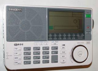 SANGEAN ATS 909X Weltempfänger WORLD RECEIVER   KURZWELLEN RADIO