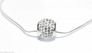 925 Sterling Silber Schmuck Set Tchibo Collier inkl. Ohrringe