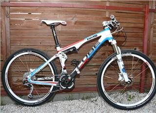 Cube AMS 100 SCR HPC   Carbon Mountain Bike   2011   Fox Shimano Sram
