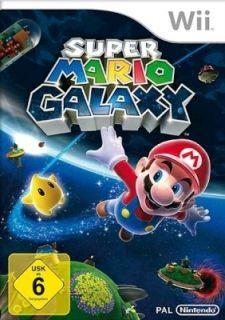 Super Mario Galaxy für Nintendo Wii, NEU&OVP 0045496363925