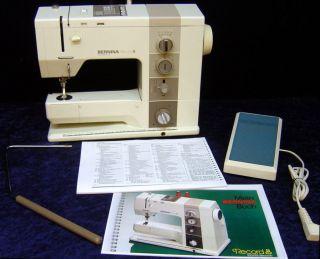 Nähmaschine BERNINA Record 930 Electronic m. Koffer   Sewing Machine