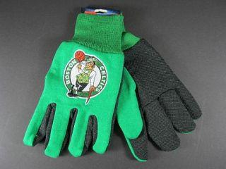 BOSTON CELTICS Handschuhe ,Gloves,gesticktes Logo,NBA Basketball,NEU,1