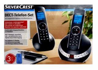 SilverCrest Cocoon 1155 DECT Telefon +Mobilteil AB