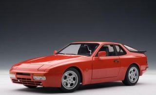 18 AUTOart Porsche 944 Turbo 1985 Rot KULT
