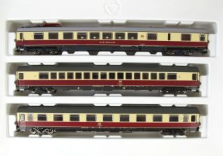 Roco 44117 Wagenset IC TEE der DB Spur H0 NEM KKK OVP