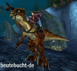 WoW Loot Savage Raptor Wilder Raptor Mount   World of Warcraft