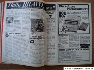 BRAVO HEFT NR. 43 / 1970 ~ Roy Black ; Jimi Hendrix ; France Gall