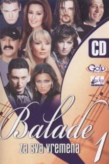 BALADE ZA SVA VREMENA 1   Najljepse FOLK Balade . original CD