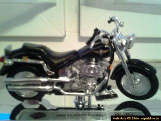MAISTO   Harley Davidson 2000 FLSTF Fat Boy 118