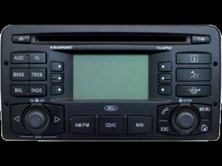 Radio Navigation Blaupunkt FORD Focus C170, 1M5T 18K931 AG, 7612 300