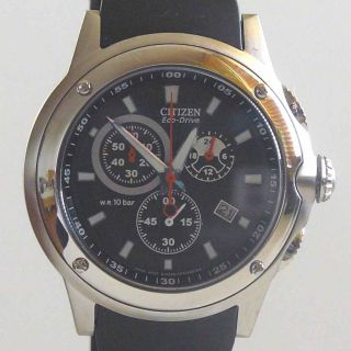 Citizen Eco Drive Chronograph Cal.H500 AT0500 01E NEU