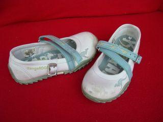 Kinder Mädchen Schuh Turnschuh Halbschuh in Weiß / Grau Größe 27