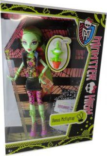Venus McFlytrap ist neu an der Monster High. Sie ist eine furchtbar