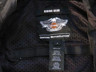 Org. Harley Davidson Racing Custom Jacke Gr. XL