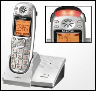 Hagenuk BIG 950 Dect Telefon Seniorentelefon SOS Notfalltaste