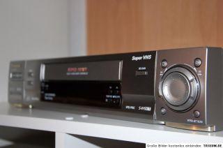 Panasonic S VHS ET Videorecorder NV HS960 EG S Super VHS   1 Jahr
