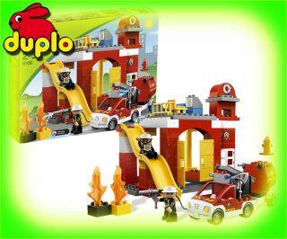 NEU LEGO Duplo Ville 6168 Feuerwehr Hauptquartier HQ Fire Station