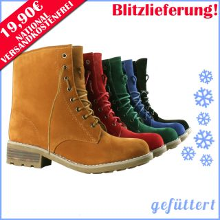 Stiefelette Stiefel 94760 Damen Schuhe Boots Gr. 36 41
