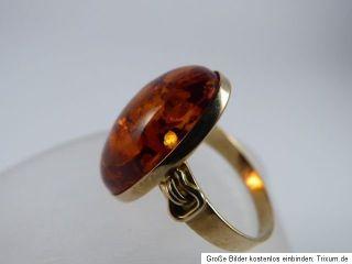antik schmuck bernstein 333 er gold ring goldring goldschmuck